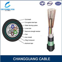 Fiber Optic Cable Arieal Stranded Armored Multicore Duct Fiber Cable GYTA53 Optical Fiber Cable