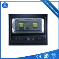 Black High Efficiency 150W Factory Light 2700-8000K Cstomized CCT LED Flood Light