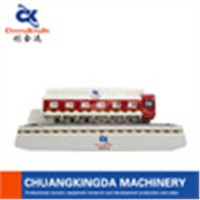 CKD- Automatic arc-edge polishing machine with ceramic tiles, marble , granite polishing machine
