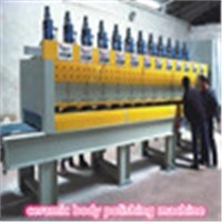 Ceramic body polishing machine
