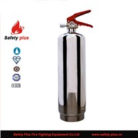 2kg CE powder stainless steel fire extinguisher
