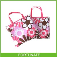 Personalized Vinyl Bag With Tote