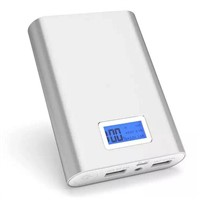 Portable mobile power bank with LCD screen,10000mah power bank for smart phone
