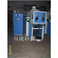 Conveyor roller friction test machinery.