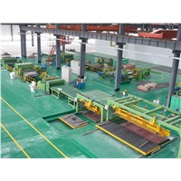 China High Speed Cold Rolled/CR Steel Coil Flying Shear/Cut to Length Line with China Factory Price