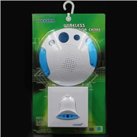 Luckarm remote musical wireless electric door bell with big button D8200
