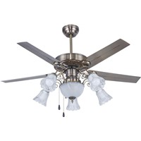 Chandelier Iron LED 48Inch Ceiling Fans with Light