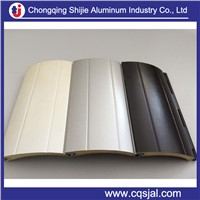 Sandy surface 3105 alloy H46 prepainted  aluminum strip for roller shutter