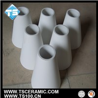 92 96 99 Alumina Cone-Shaped Tube/Pipe for Hydrocyclone Liner