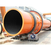 Adjustable Humidistat high output sawdust rotary dryer for sale