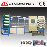 4 Color Offset Plastic Cup Printing Machine
