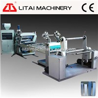 Single Screw Plastic Sheet Extrusion Machine Line