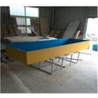 high strength fiberglass fish tank factory, China fiberglass tank