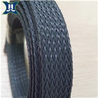 20mm dara grey PET  expandalbable braided sleeve for tubes