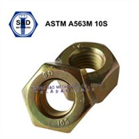 ASTM A563 Heavy hex nuts;ASTM A563 Gr.A Hex Nuts with HDG;ASTM A563 10S  Heavy Hex Nuts