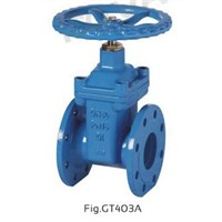 BS5163 PN10/PN16/PN25 NRS RESILIENT SEAT GATE VALVE
