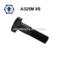 High Tensile Structure Bolts ASTM A325m 8s Black Finish Full Thread