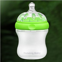 Kumeng Baby extra wide caliber silicone baby feeding bottle
