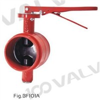 MSS SP-67 300PSI GROOVED-END BUTTERFLY VALVE
