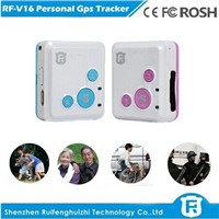 Personal child anti kidnapping gps tracker for kids elderly big sos button reachfar rf-v16