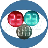 led 2digital traffic countdown light timer