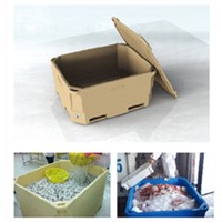 Rotomold PE Storage Box for Fish & Food