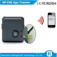 Wireless engine immobilizer gps car tracker small sos button rf-v8s