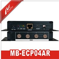 4-CH POE Switch Hub Over Coax  MB-ECP04AR