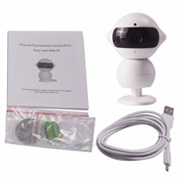 Mini Wifi Robot P2P 960P HD Wireless IP Camera Car DVR IR Night Support Phone&ipad Watch