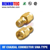 New hot best stailess steel sma male to female connector RG59