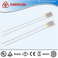 250V 2A ceramic thermal cutoffs for electronic components