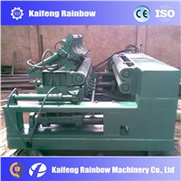 wood log debarking and rounding machine