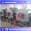 rotary drum removable roaster for oil manufacture