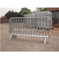 1100*2100 Mm Pedestrian Galvanized Crowd Control Barricade