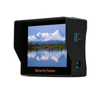 3.5-inch Handheld Video Performance Testing security CCTV Tester