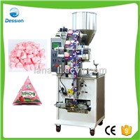 Low Price Chocolate Corn Snack Triangle Bag Packing Machine