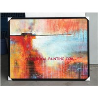 Handpainted oil painting reproductions abstract painting decorative painting