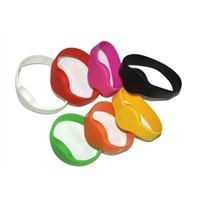 125khz RFID Silicone Wristband for Access Control System