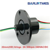 capsule slip ring of 22mm(OD) 6circuits 2A for robot from Barlin Times