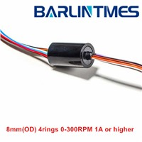 capsule slip  ring of 8.3mm(OD) 4 circuits 1A forCCTV from Barlin Times