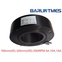 through bore slip ring of 150mm(ID) 5/10/15A for radar,military equipment from Barlin Times