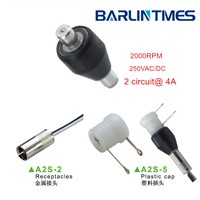 2000 RPM mercury slip ring  for cable from Barlin Times