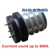 Big current slip ring with 600A current for vessel equipment and cable reel from Barlin Times