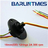 capsule slip ring of 18mm(OD) 12circuits 2A for medical equipment from Barlin Times