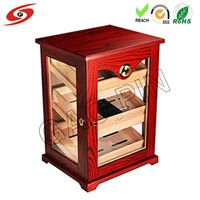 High Glossy Piano Paint Wood Cigar Cabinet Humidor Storage Box