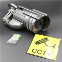 Solar bullet decoy cctv dummy security fake waterproof camera