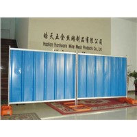1.8x2.24m Temporary Corrugate Colorbond Steel Hoarding Panels Fencing for Construction Site