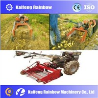 walking traction peanut harvester for farm