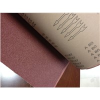KX167 abrasive cloth for wide belt for machine use for polishing non-ferous metal,normal steel