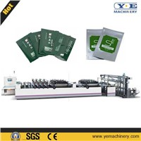 Plastic Central Sealing and Three Side Sealing Pouch Laminated Bag Making Machine